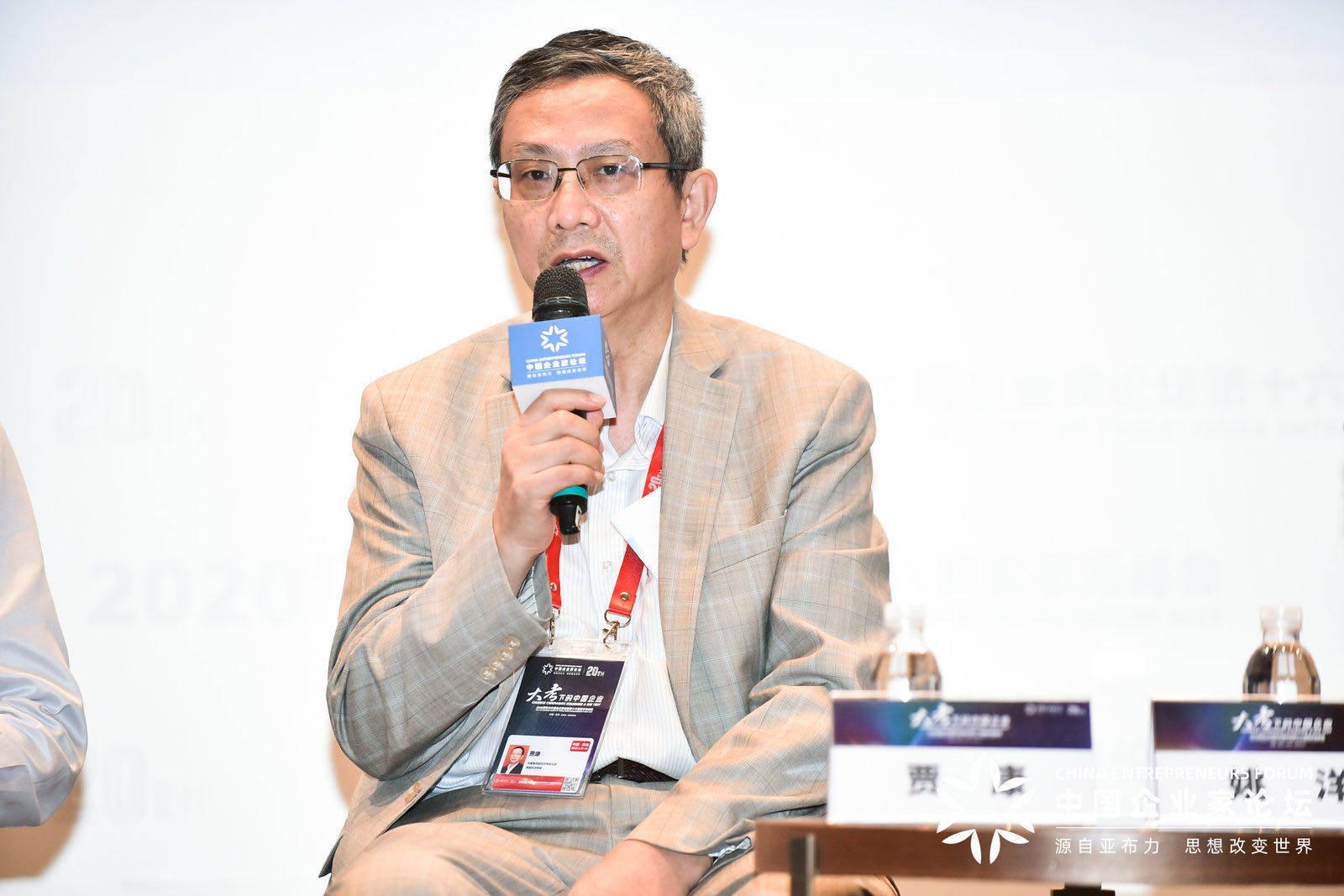 贾康:中国市场主体达1.3亿,小微企业新增就业占比90%以上