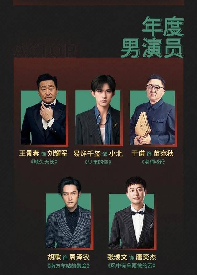 电影导演协会公布最佳男演员提名,从易烊千玺到于谦,名单很有趣