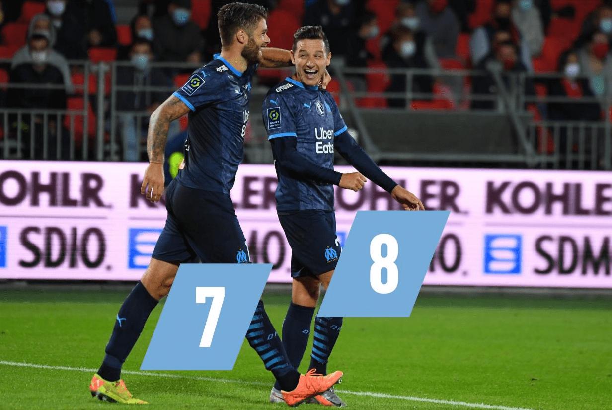法甲-黄义助助攻波尔多2-0 马赛3-2力克布雷斯特