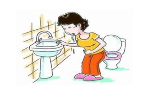 2、胆汁吐逆 腹部上方疼痛男人还会伴随着和胆汁吐逆的现象