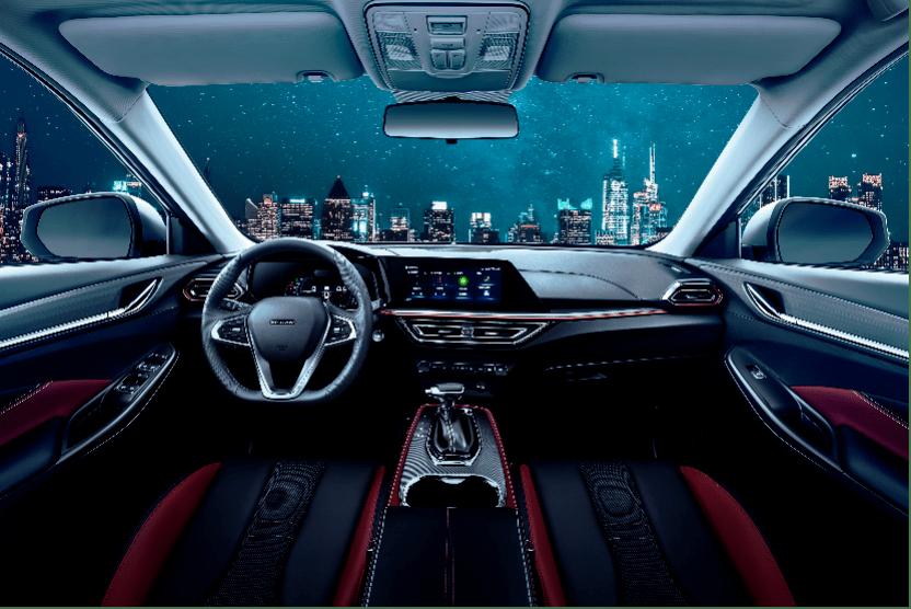 双联屏+赛车座椅,这台10万级新SUV内饰曝光