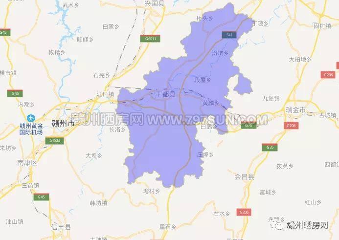 赣州哪个县人口最多_赣州人口最多的5个县区 宁都竟是