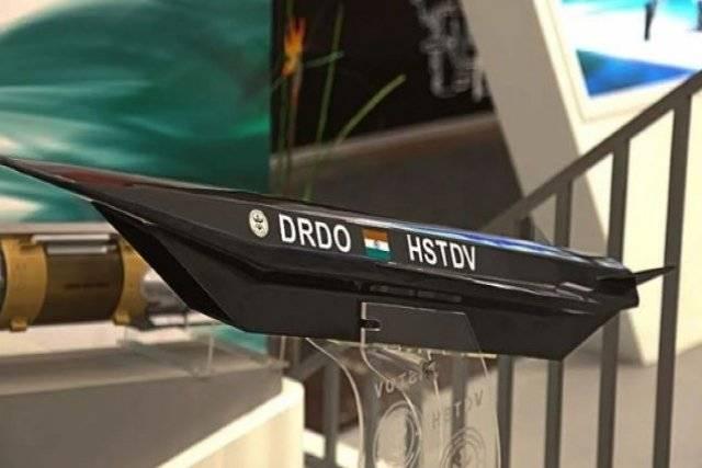 DRDO HSTDV scale model