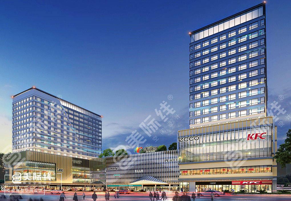 <strong>深圳商业综合体设计需具备的特点!</strong>