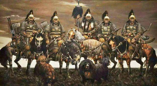 博尔忽蒙古名将他是成吉思汗四骏之一