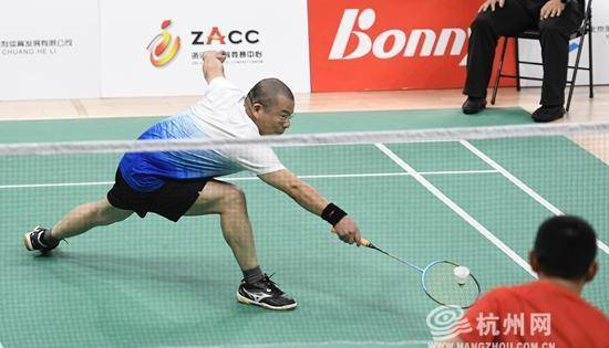 国际范高军!浙江新时代先锋羽毛球锦标