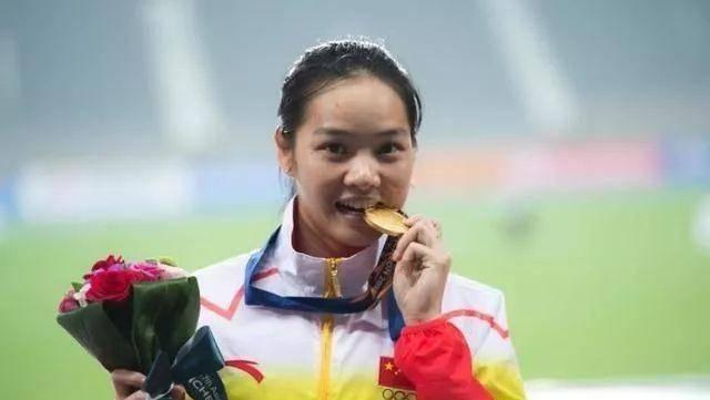 韦永丽是中国田径的一姐,她曾经在餐厅