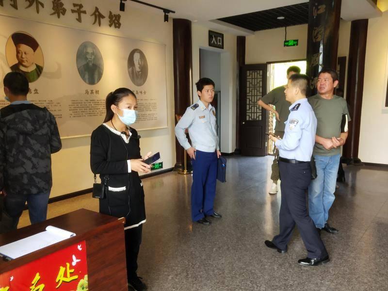 湖北鄂州:多部门联合开展旅游景区消防安全检查