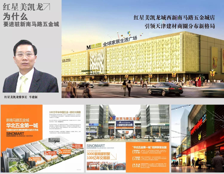 迈特之星商业地产运营项目天津新南路五金城