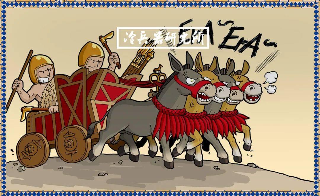 """4500年前就装备铜盔,和四驱""""野驴""""战车,图说古苏美尔军队"""