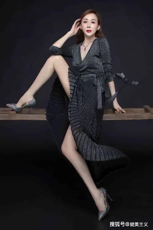 台湾第一美女因身材火辣喜提热搜,自律的人真可怕!