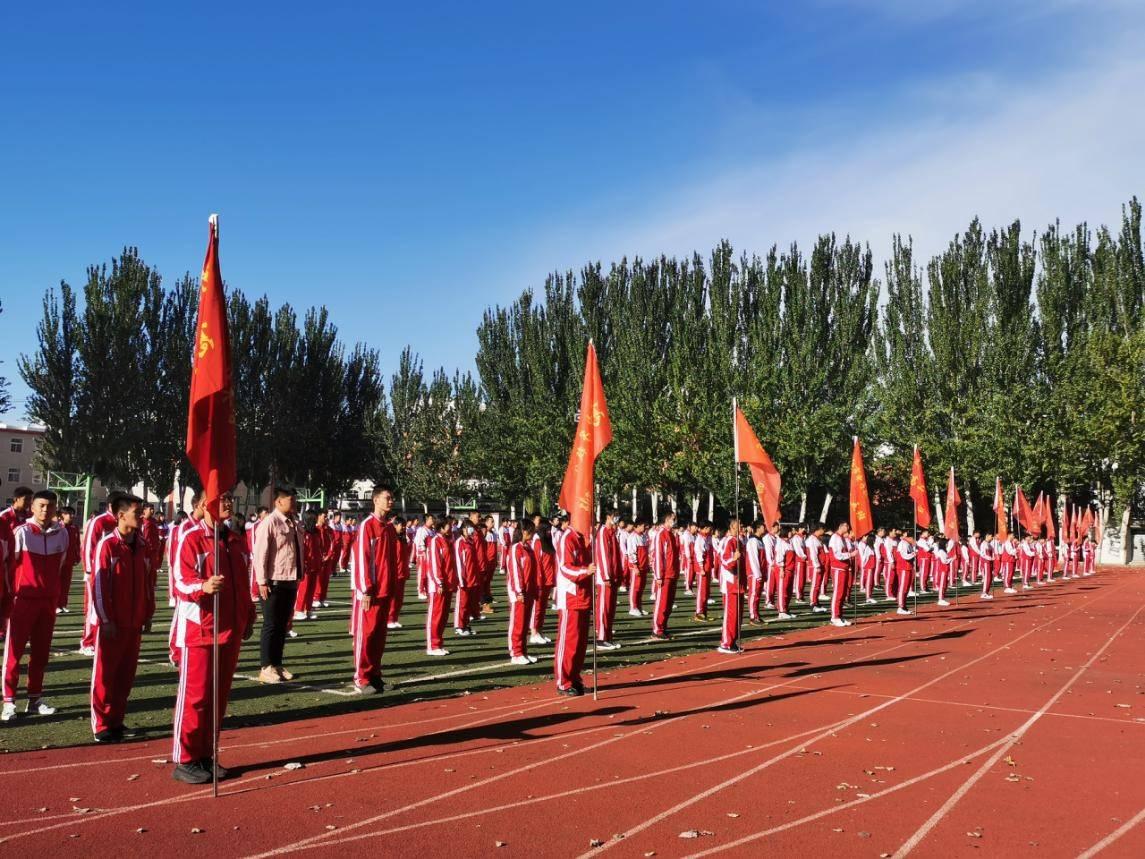欢迎国庆 向国旗致敬!沈阳电子技术学校