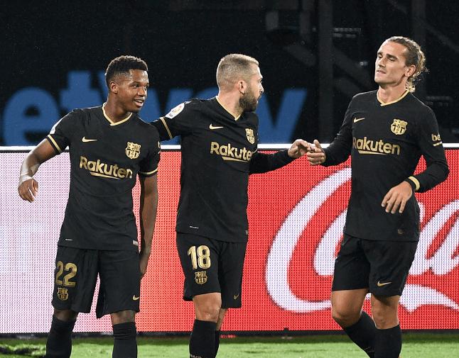 20/21赛季西甲联赛第4轮迎来最后一场竞赛