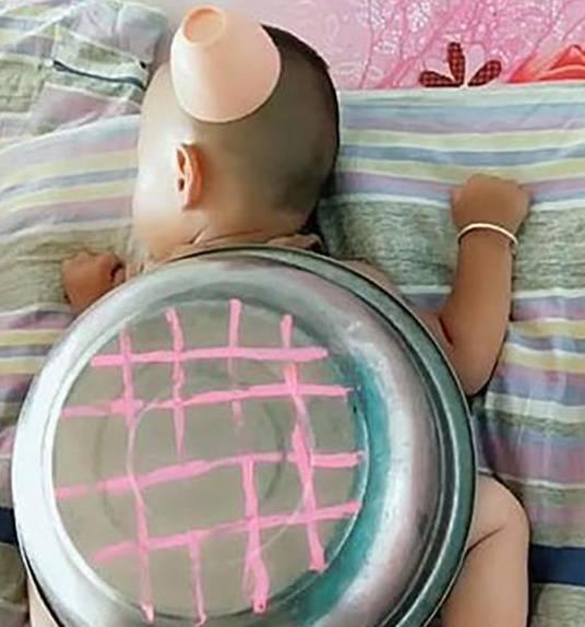 宝爸家里带了双胞胎儿子 马宝不放心 鲍