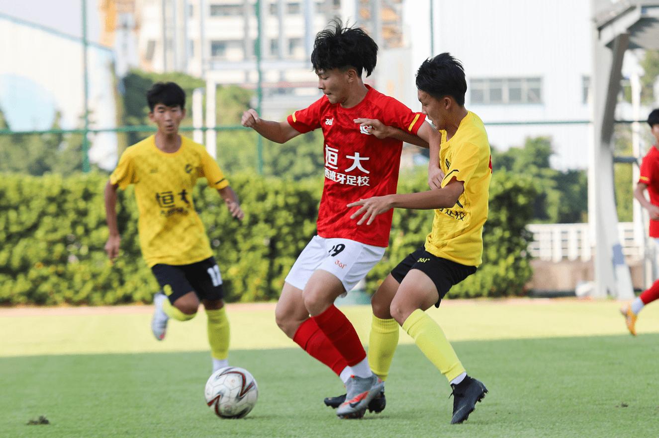 广州恒大足球学校优秀小将