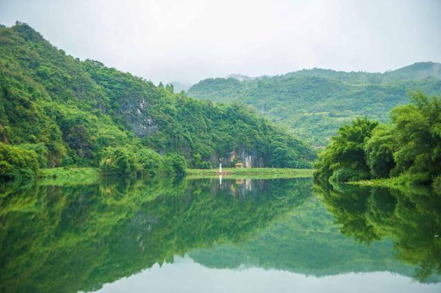 原创             广东周末游该去哪?这个景区有世外桃源的风情村寨,风景如诗如画