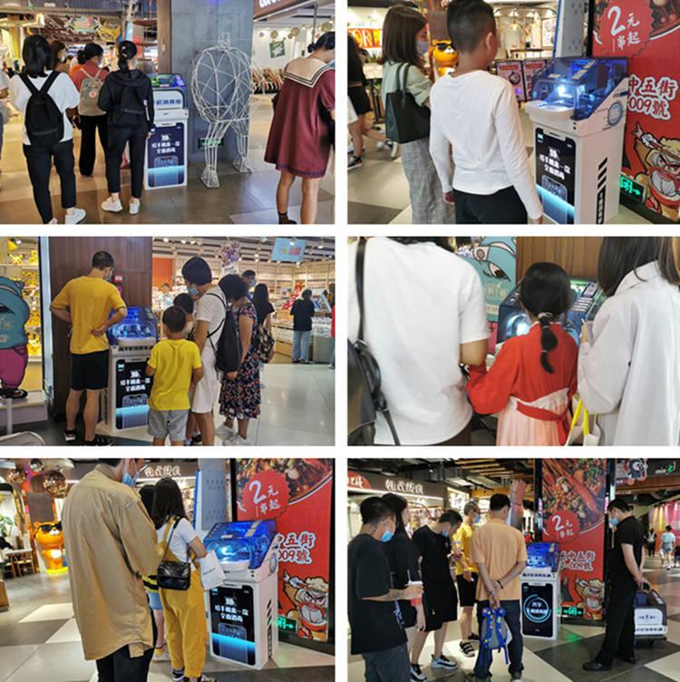 兴福手机消毒舱进驻华南各大商场 随时随地为手
