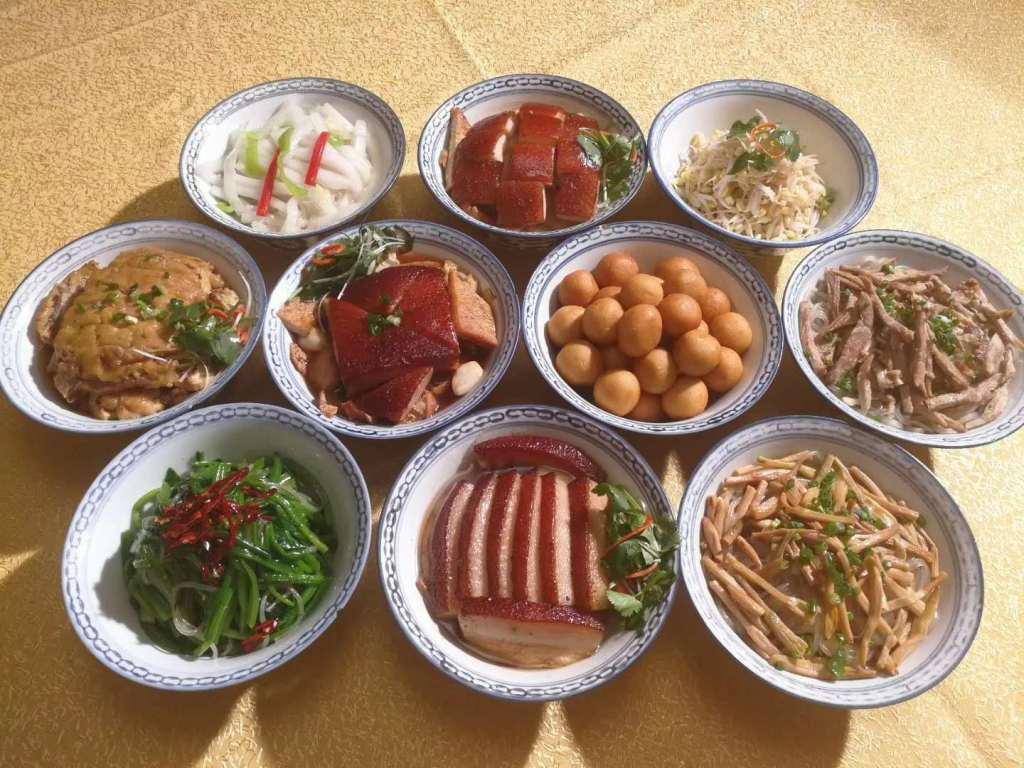 陕西美食:十碗席