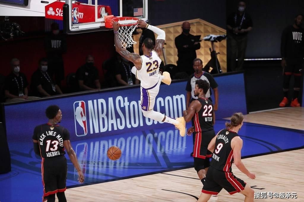 35岁詹姆斯还在前进!总决赛一数据近24年NBA第一
