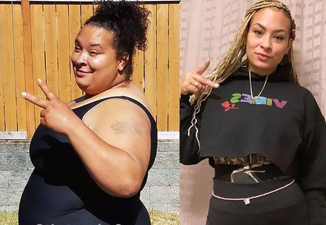 减肥1年半,女生从300斤减到146斤,分享1周的健身训练计划_露西