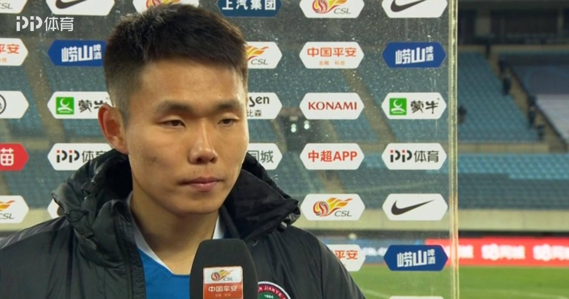 王上源:建业队保级感谢所有人,将这场比赛献给所有河南球迷