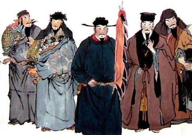 把宋江、吴用等5位好汉的名字,连起来一读,会发现一个水浒秘密