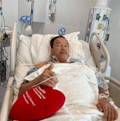 73岁施瓦辛格再次接受心脏手术:我感觉棒极了