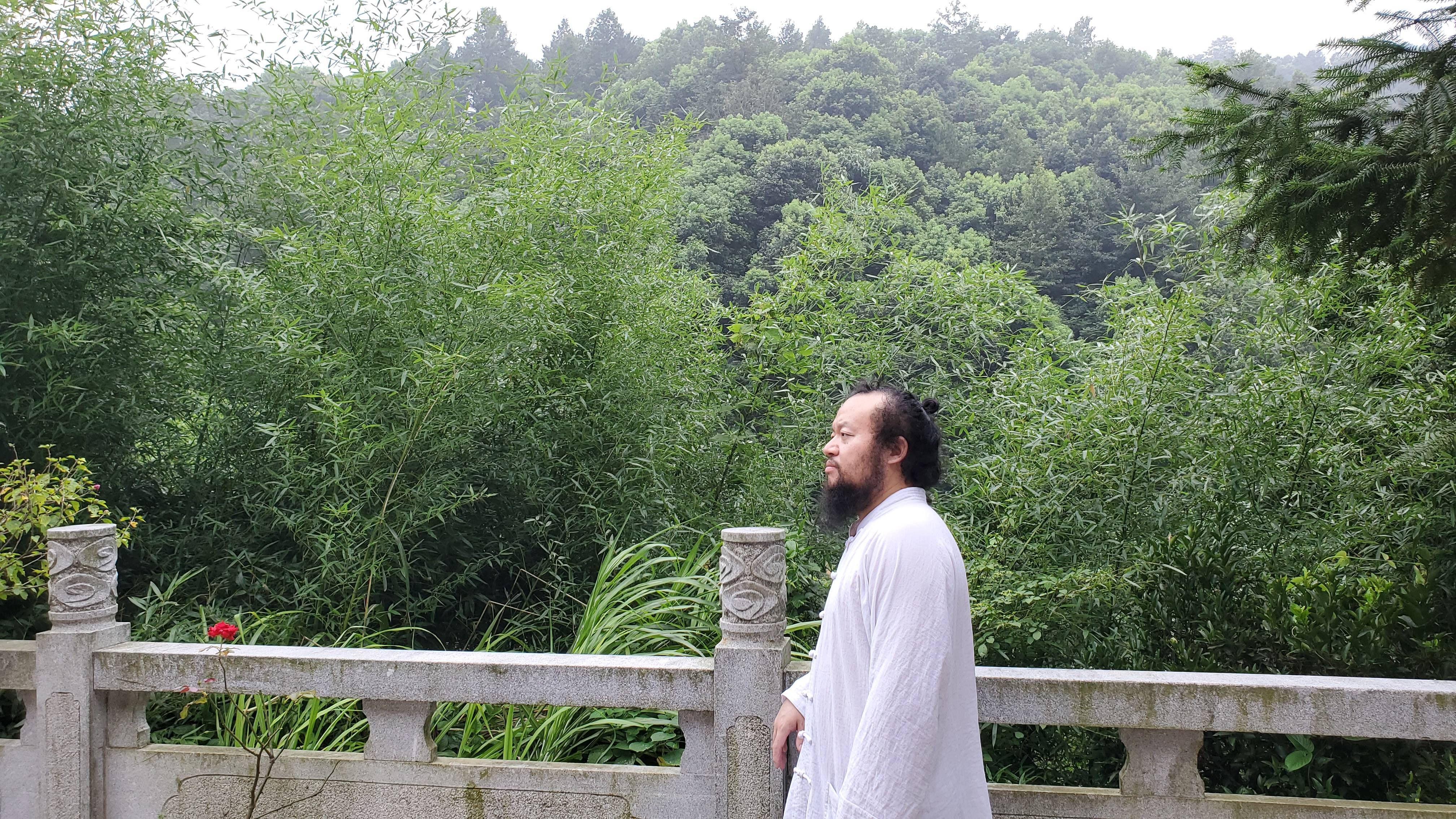 隱居在洛書草堂的無量子原來是湖南最厲害風水先生