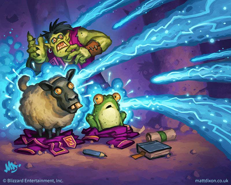 《【区块链游戏】炉石传说:唤醒分早了!奇迹法再登顶!》