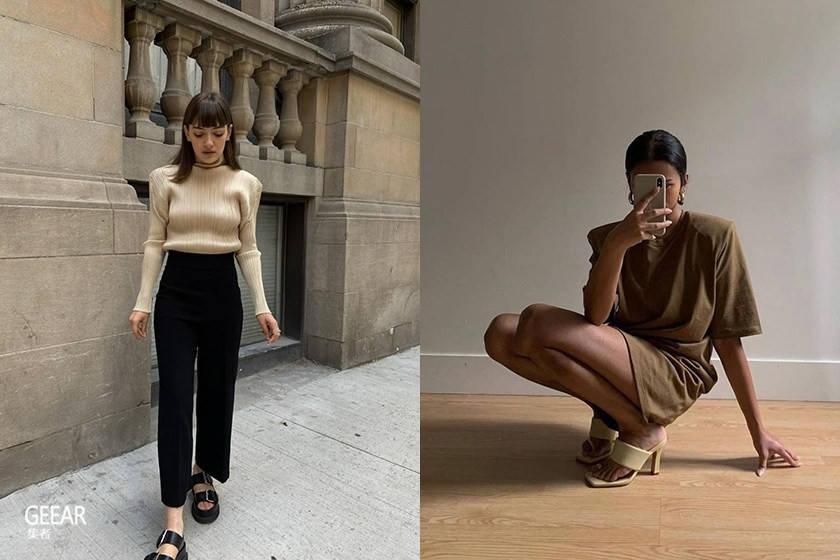 时尚博主们都在搜寻的秋冬时髦关键字就是垫肩!