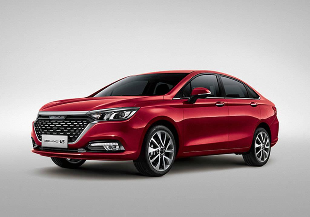 售价76900,并列出了北京-U5的三款新车型