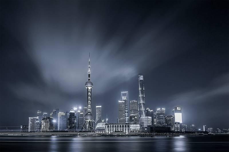 原创              摄影师镜头下的上海地标式建筑,不愧是魔都