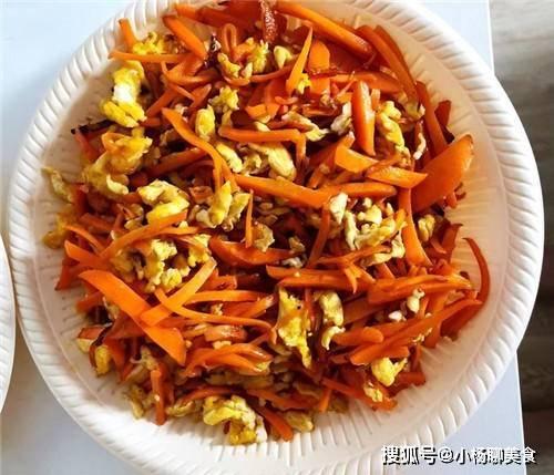 胡萝卜和此菜炒,比吃肉还香,能吃2碗米饭,营养又好吃!香