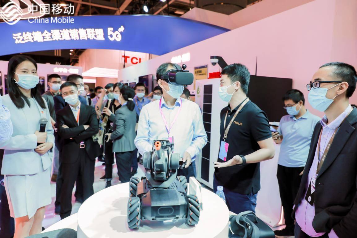NOLO VR携多款家庭VR创新产品亮相2020中国移动全球合作伙伴大会