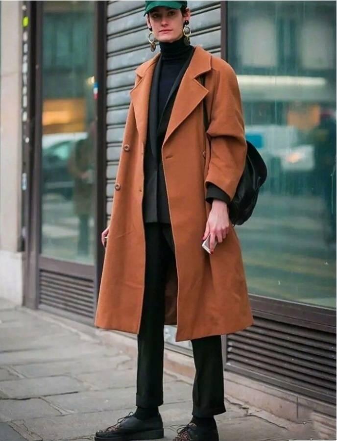 半高领毛衣太赞了,显脸小还保暖,时髦女孩都爱