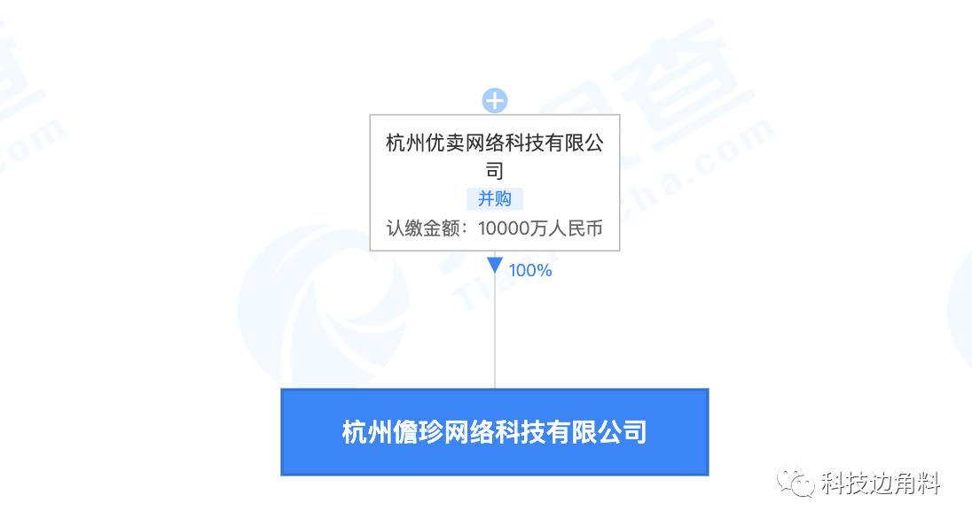 _考拉海购成立杭州儋珍网络公司,注册资本1亿元