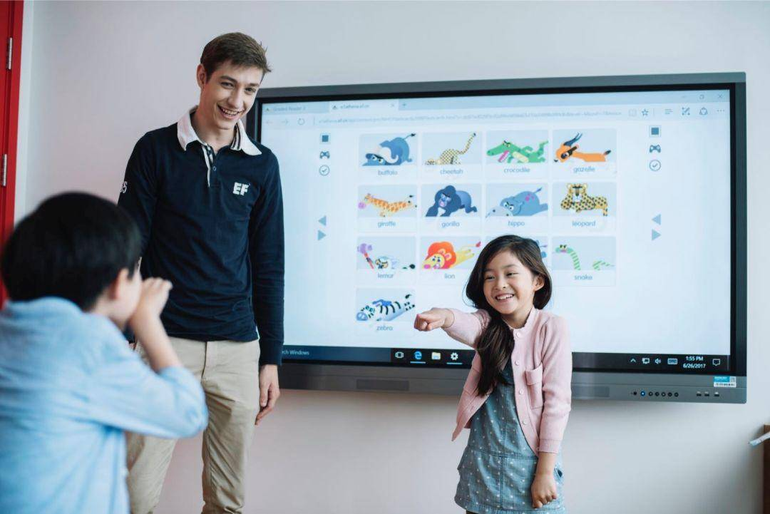 对话丨英孚教育成都中心:双翼产品,以创新升