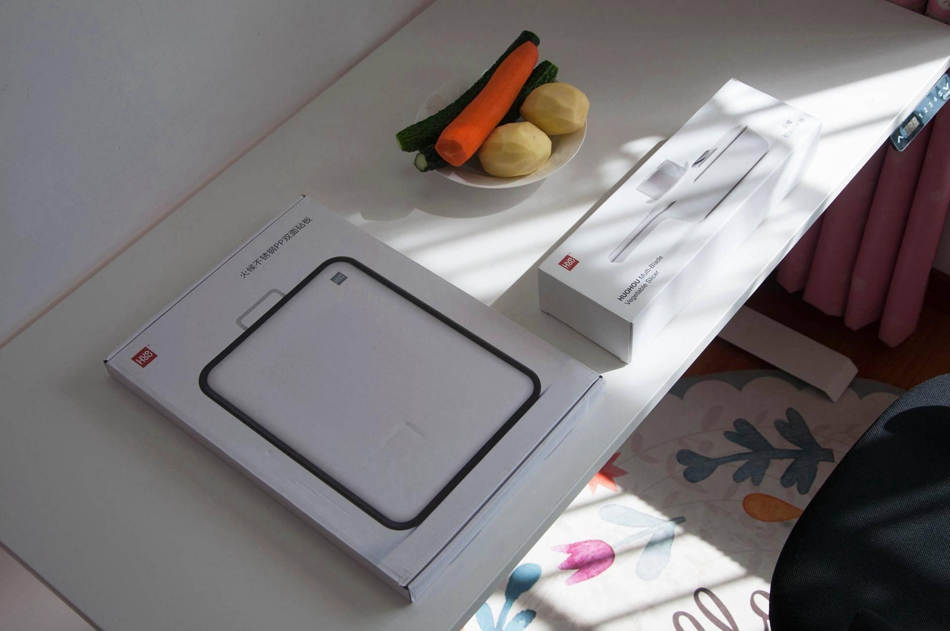 厨房有好吃的,多功能刨丝器不锈钢PP双面砧板,懂吗?