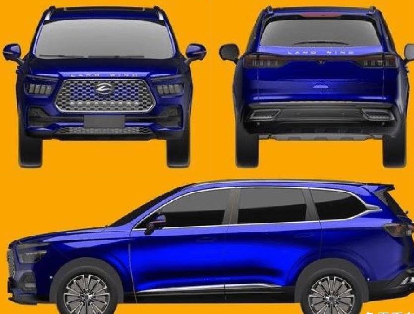 原创还是没放弃,江铃陆风新SUV曝光,这次不小了,有望推出七座