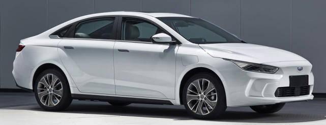 """原吉利纯电动""""Model 3""""车图曝光,新车logo比特斯拉帅"""