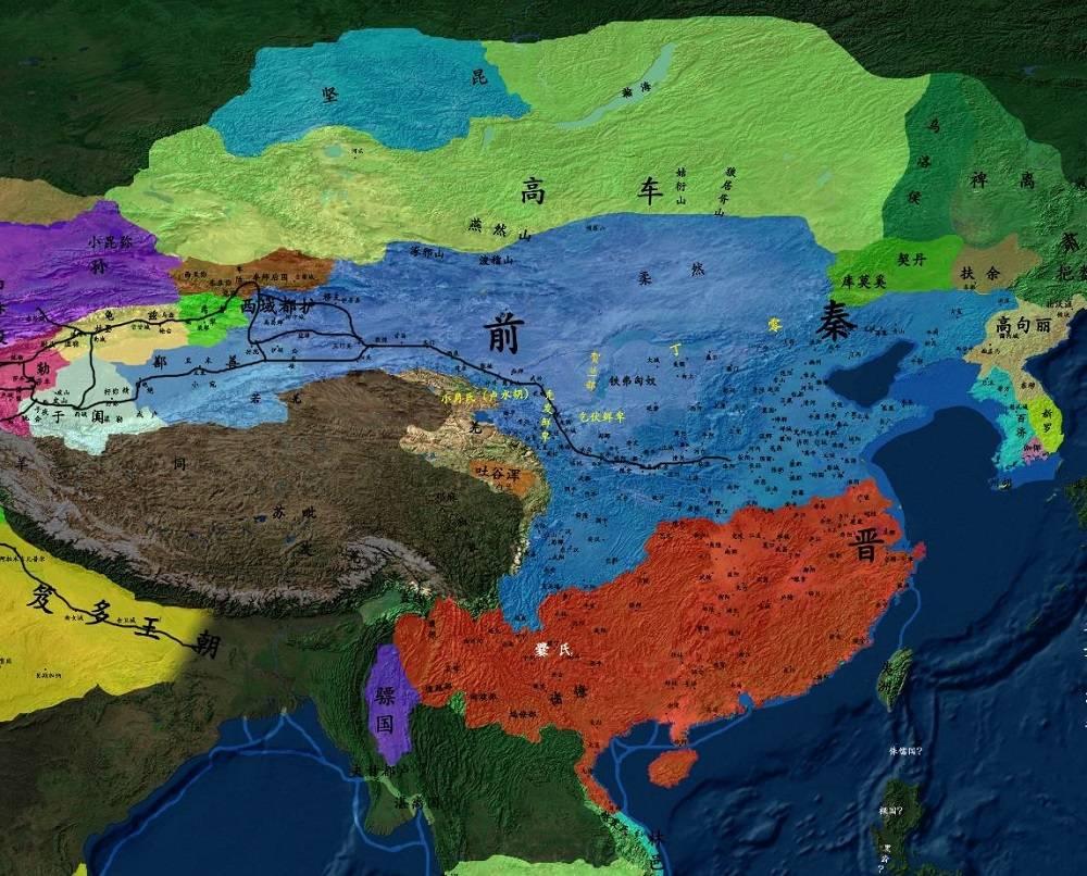汉朝以后4个以秦为国号的政权,结局都很惨,最后一个险些灭唐