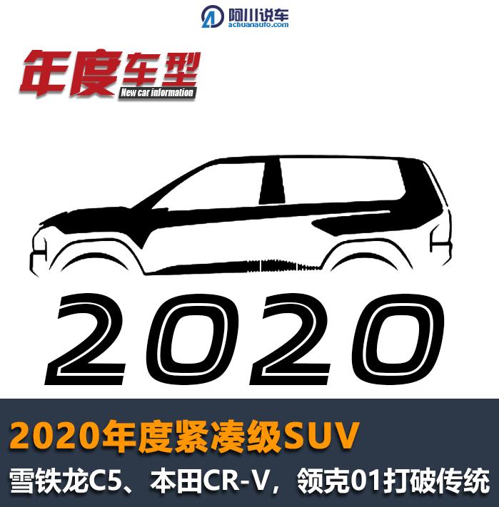 2020年,紧凑型SUV年度五强,柯灵01,进口大众…