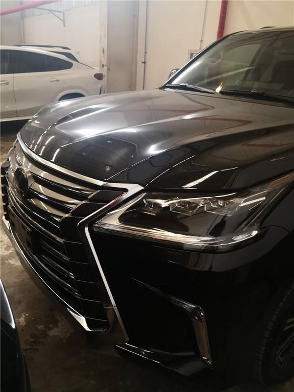 雷克萨斯LX570plus六国版目前提供20款现车销售fbg