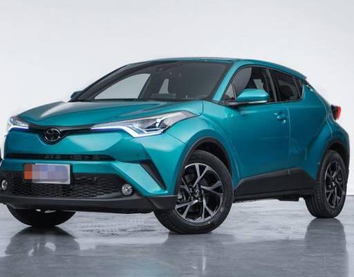 原厂丰田C-HR,裸车价格16万左右,是一款不寻常的丰田车