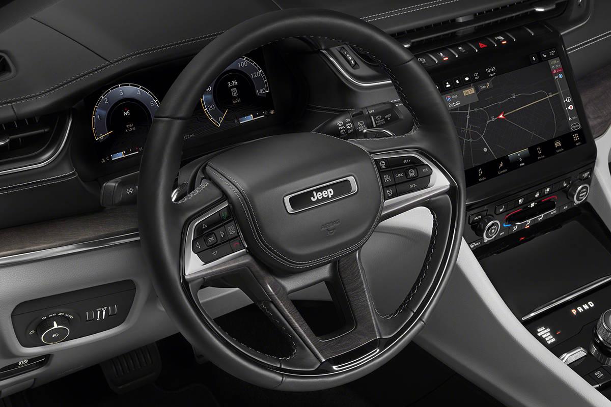 大6座三排SUV还善越野 Jeep全新大切诺基L官图发布