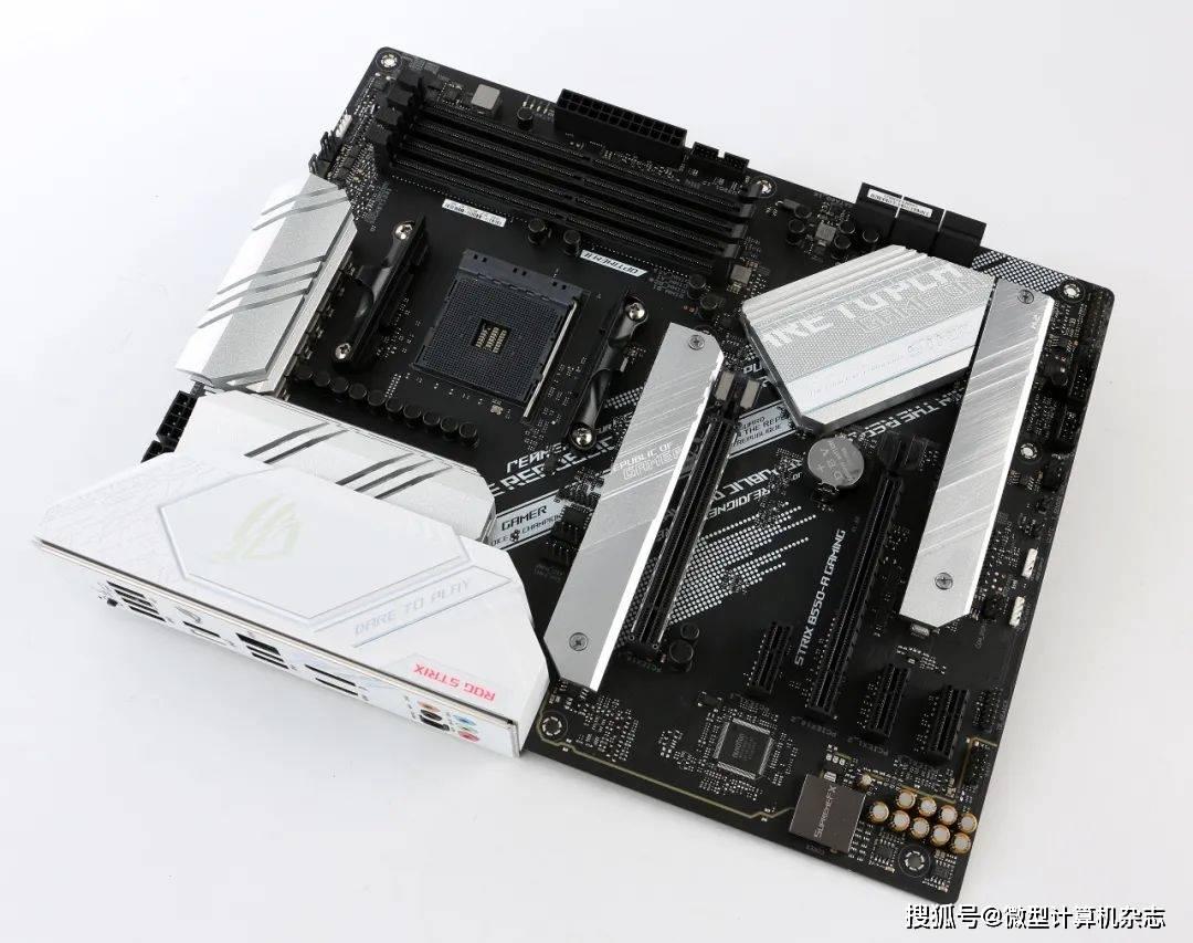 完美支持Zen 3+DDR4 4000,还能降噪 ROG B550吹雪主板实战