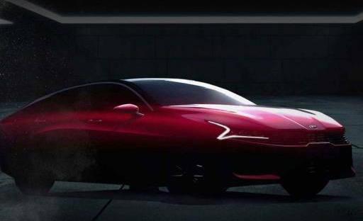 最初的新一代起亚K5即将推出,采用轿跑式设计,双屏内饰非常豪华
