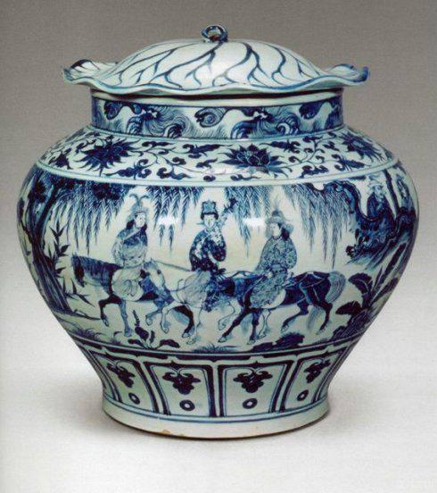 国内多位权威鉴宝专家认为假元青花,2年后1620万卖给日本人,国宝流失海外