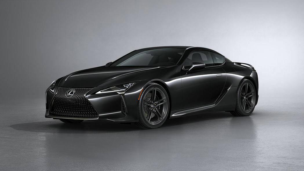 原装安静帅哥,新款雷克萨斯LC500灵感系列coupe发布
