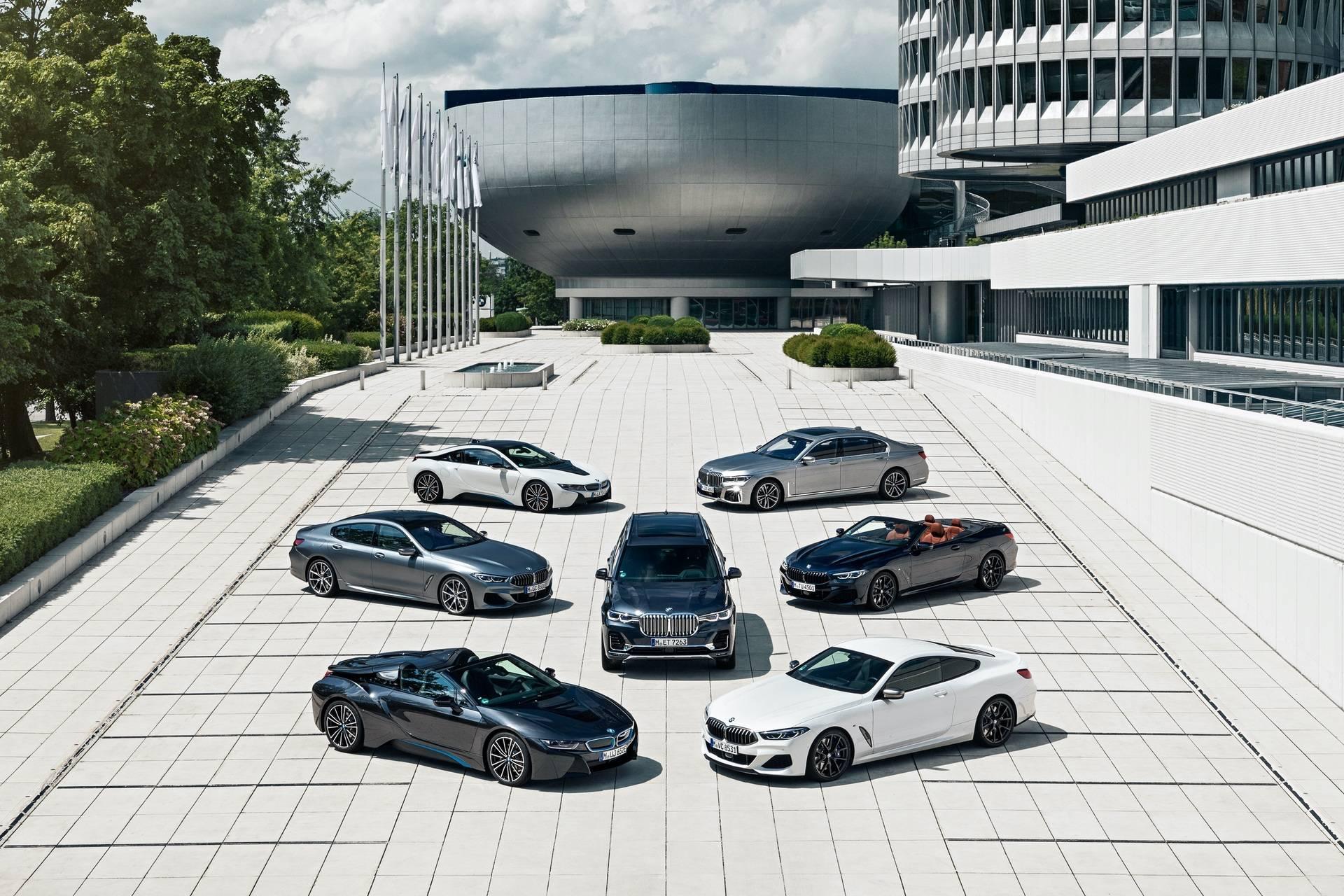 2020年中美豪华车销量原始对比,宝马成为最大赢家